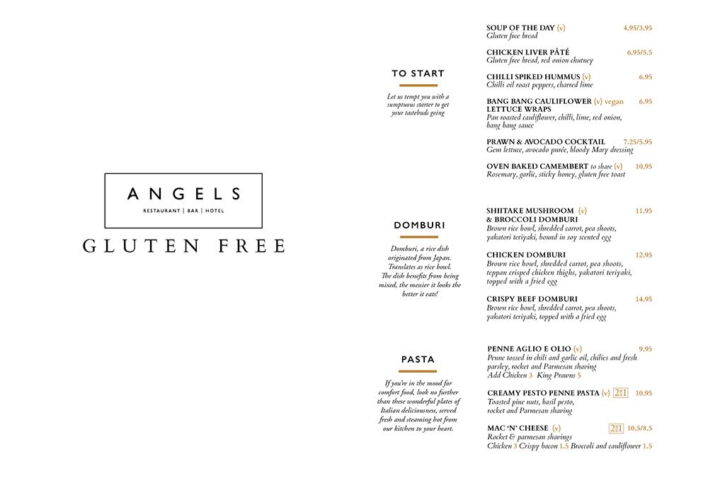 Angels Restaurant Dining Uddingston